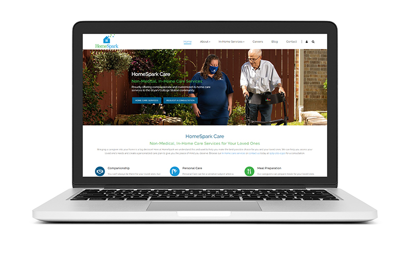 New Website Launch: HomeSpark Care