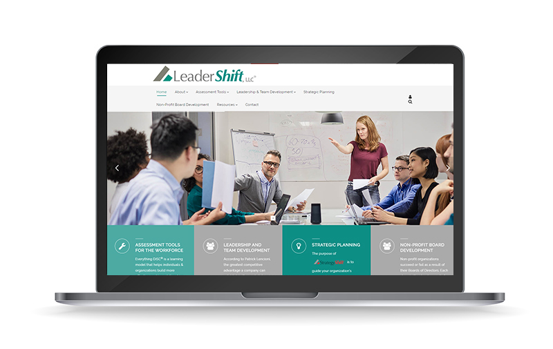 New Website Launch: Leadershift