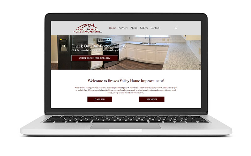 New Website Launch: Brazos Valley Home Improvements