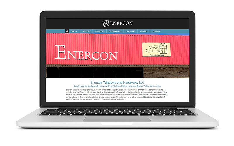 New Website Launch: Enercon Windows and Hardware