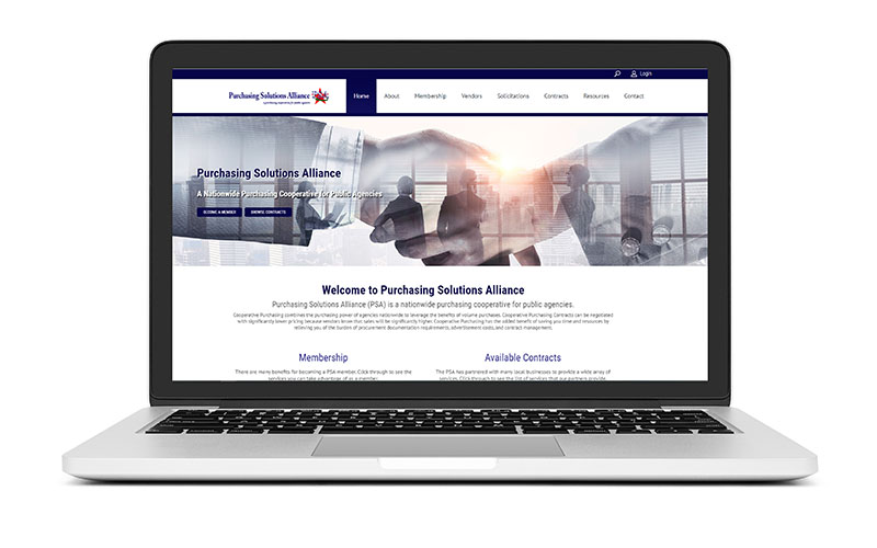 New Website Launch: Purchasing Solutions Alliance