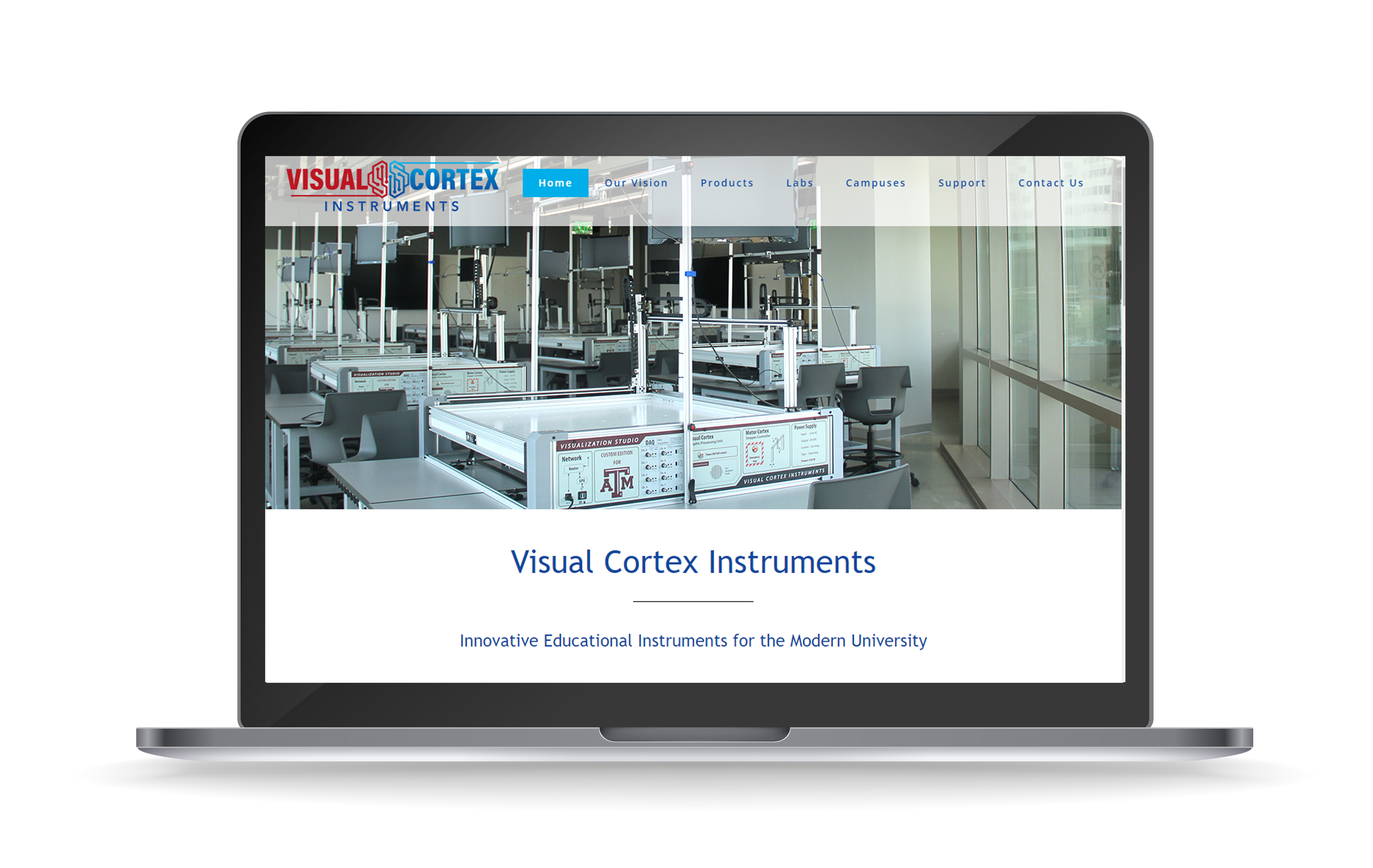 New Website for Visual Cortex
