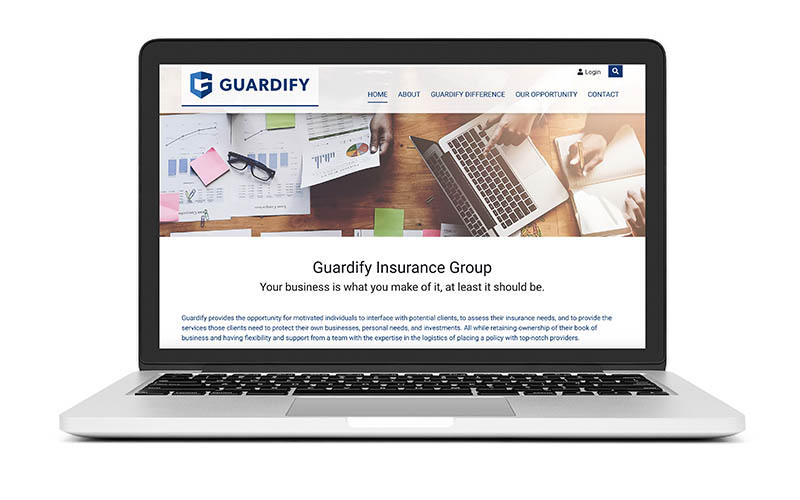 New Website Launch: Guardify