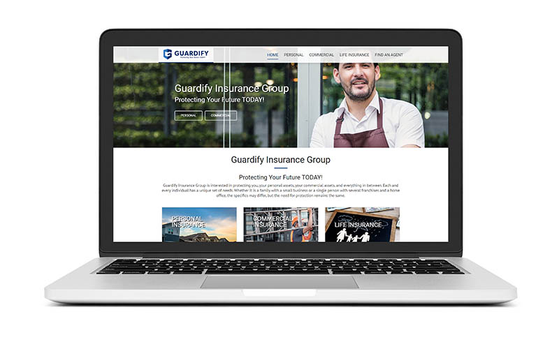 New Website Launch: Guardify Insurance Group