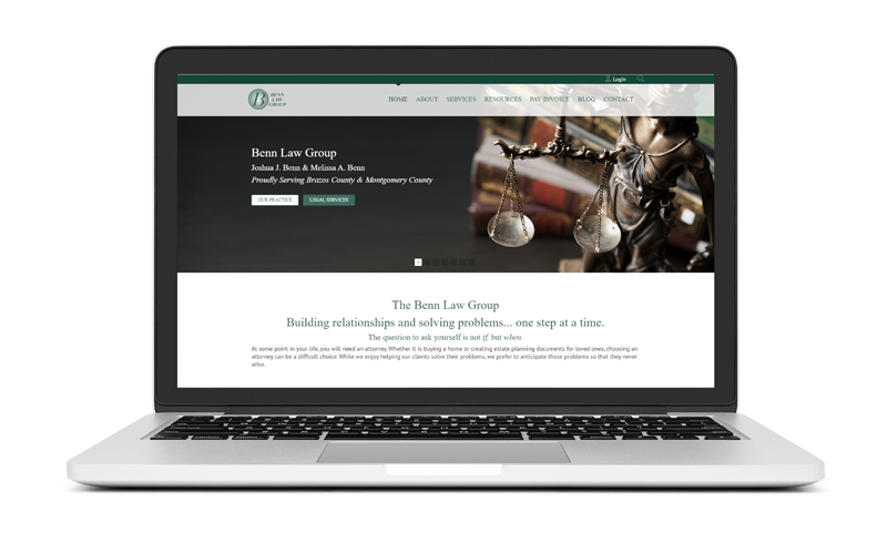 New Website Launch: The Benn Law Group